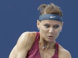 SNAHA. Lucie Šafářová na turnaji v Cincinnati.