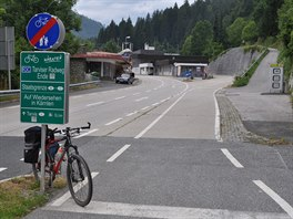 Rakousko-italská hranice Thörl-Maglern / Tarvisio