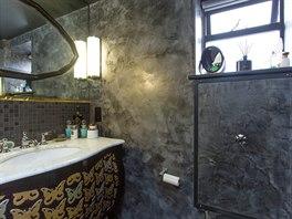 Součástí je samozřejmě koupelna se sprchovým koutem, umyvadlem a toaletou.