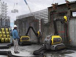 T�kou bourac� techniku mohou nahradit roboti. Pracuj� �ist� a nez�st�v� po...