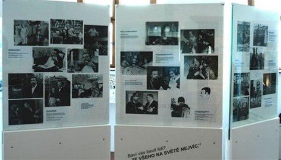 Vladimíru Menšíkovi je v Ivančicích věnována expozice s fotografiemi a osobními