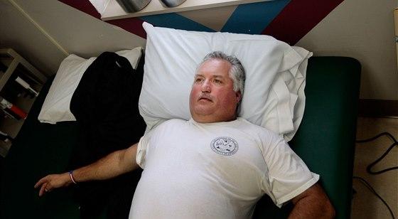 Jedním z mnoha amerických vojáků, kteří si z Iráku odvezli posttraumatickou