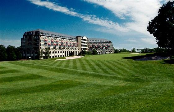The Celtic Manor Resort u velšského Newportu, kde se uskuteční 4. a 5. září...