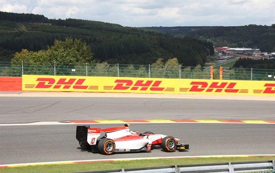GP2 VE SPA: Stoffel Vandoorne si jede na domácí tratI pro pole position.
