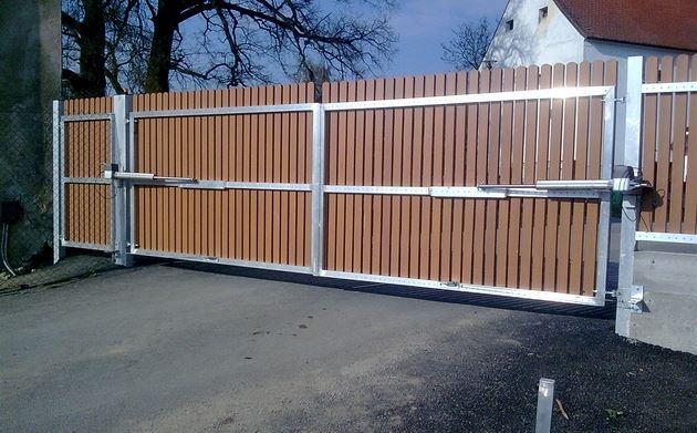 Pořiďte si hliníkovou vjezdovou bránu za cenu ocelové!