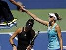 PŘEKVAPENÍ. Česká tenistka Karolína Plíšková vyřadila ve 2. kole US Open...