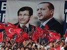 Příznivci vládnoucí AKP (27. srpna 2014)