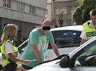 Policisté dopadli muže pod vlivem drog, který ujížděl hlídce ulicemi Kladna