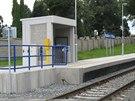 Vlaková zastávka Hostivice - U hřbitova