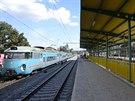 Vlaková zastávka Praha - Podbaba