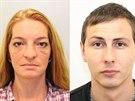 Petra Brožová a Jiří Kunčar, které policie obvinila z podvodu. Seniorku připravili o milion korun.