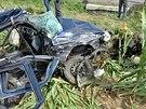 Tragická nehoda u Práče na Znojemsku (25. srpna, 2014).
