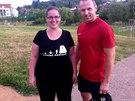 Veronika a její fitness trenér