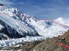 Z předsunuté základny na vrchol Shisha Pangma a zpět