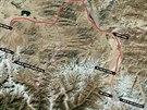 Mezi oběma vrcholy bude muset trio urazit 170 kilometrů.
