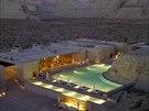 Hotel Amangiri v americkém stát� Utah nabízí ubytování v t�sné blízkosti Grand...