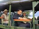��nsk� premi�r Li Kche-�chiang nav�t�vil p�i sv� n�v�t�v� Keni i N�rodn� park...