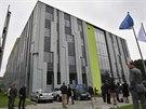 Budova v Ostravě-Porubě, ve které bude umístěn superpočítač, architektonicky...