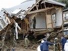 Masivní sesuvy půdy v japonské Hirošimě (20. srpna 2014)