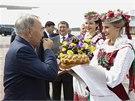 Do Minsku dorazil i Nursultan Nazarbajev, prezident Kazachstánu. (26. srpna