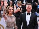 Angelina Jolie a Brad Pitt na předávání Oscarů