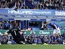 DRUHÝ GÓL. Everton vs. Arsenal 2:0. Takový stav platil v utkání anglické ligy...