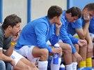 Smutek na lavičce fotbalistů Ústí nad Labem