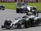 Kevin Magnussen ve Velk� cen� Belgie formule 1.