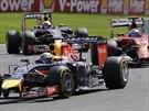 Sebastian Vettel ve Velk� cen� Belgie formule 1.