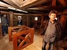 Až se v září hrad a zámek otevře veřejnosti, prohlédnou si zájemci i místnost...