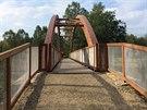 Pár set metrů před Černým Křížem vyrostl nedávno krásný dřevěný most přes...