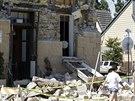 V kalifornském vinařském centru Napa bylo po pondělním zemětřesení silně...