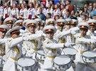 V Kyjevě se sklaví nezávislost a armáda uspořádala mohutnou vojenskou přehlídku