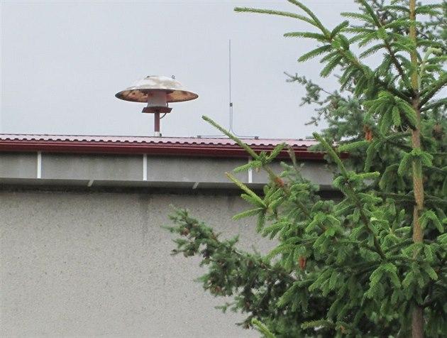 Rota�ní siréna na dom�. (ilustra�ní snímek)