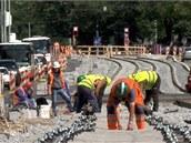Oprava ulice B�lohorská