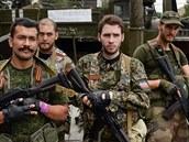 Za separatisty z Donbasu bojují i Francouzi Guillaume, Michel, Victor a Nicolas.