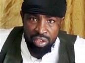 Abubakar Shekau, šéf islamistů z radikálního hnutí Boko Haram