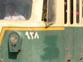 Konec tramvají v Káhi�e