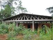 Conservateur Centre Agroforestier. Budova, ve které by se měly chovat řekomyši...