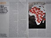 Zmiňovaný článek v Bloomberg Businessweek o vlivu Číny v Africe
