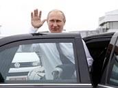Ruský prezident Vladimir Putin dorazil do Minsku. (26. srpna 2014)