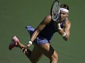 �eská tenistka Lucie �afá�ová v duelu 3. kola US Open s Alize Cornetovou z...