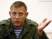 Oleksandr Zacharčenko na snímku ze 7. srpna 2014.