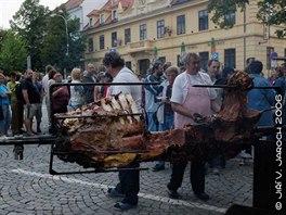 Navštivte během září kulturní akce ve Slaném! Rožnění uherského (martinického)...