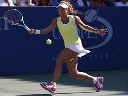 Česká tenistka Petra Cetkovská souboj s Kvitovou ve 2. kole US Open prohrála.