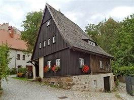 Jeden z nejstar��ch dom� ve m�st�, pravd�podobn� postaven� p�ed rokem 1604....