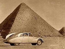 Miroslav Zikmund a Ji�� Hanzelka na sv� prvn� cest� 1947 - 1950. Egypt