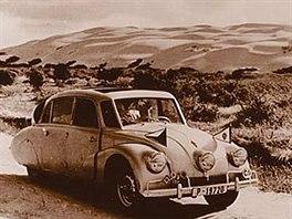 Miroslav Zikmund a Ji�� Hanzelka na sv� prvn� cest� 1947 - 1950.