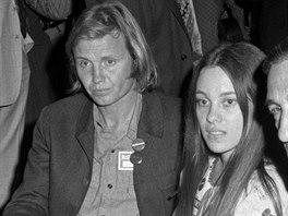 Rodiče Angeliny Jolie Jon Voight a Marcheline Bertrandová