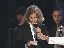 Ceny MTV 2014: Za Miley Cyrusovou převzal cenu bezdomovec Jesse a přečetl